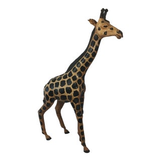 Genuine Leather Giraffe