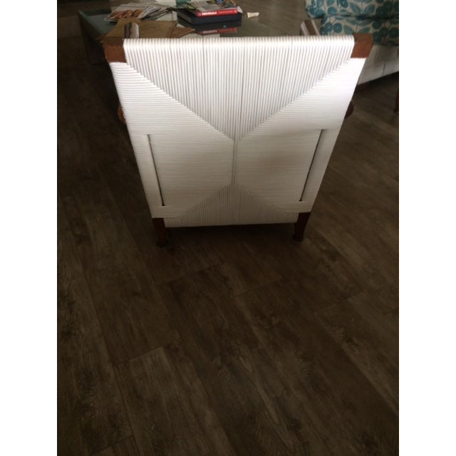 Donghia Block Island 2 Armchairs and Ottoman W/New Goose Down Pillows - Image 7 of 8