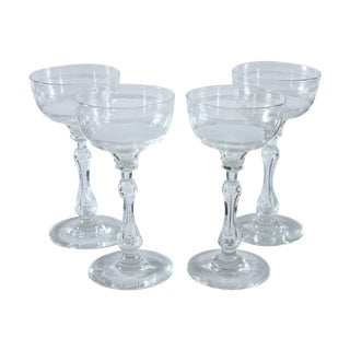 Coupe Champagne Glasses - Set of 4