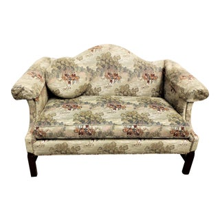Equine Fox Hunting Print Loveseat