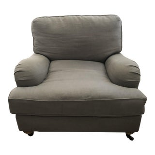 Restoration Hardware English Roll Arm Chair