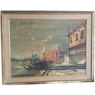 Mid-Century Mod Bouvier De Chachard Painting Print