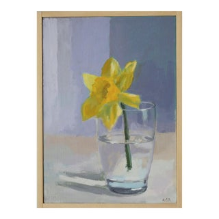 Daffodil Painting by Anne Carrozza Remick