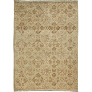 """Oushak Hand Knotted Area Rug - 6' x 8'3"""""""