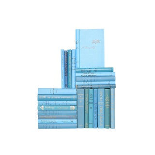 Coastal Blue Mid-Century Mix - Set of 25