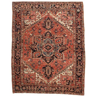 Hand-Knotted Persian Hariz Rug - 3′10″ × 7′10″