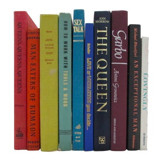 Rainbow Decorative Books - Set of 10