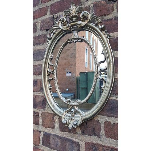 Silver Victorian Mirror - Image 2 of 4