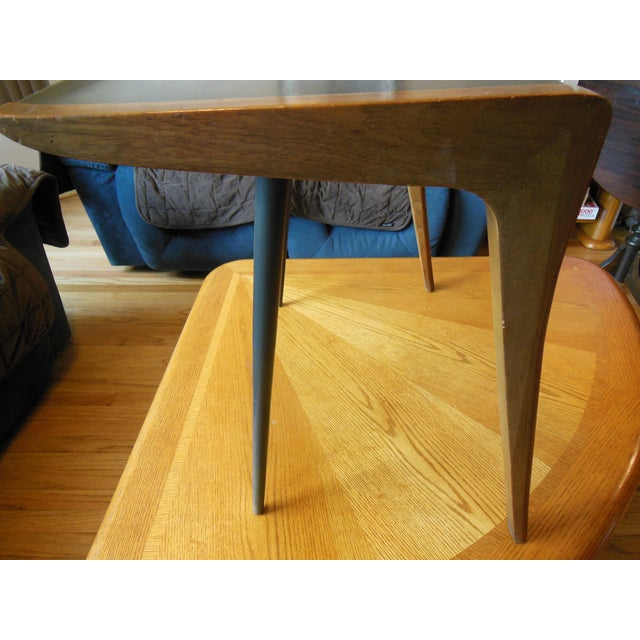 Mid-Century Two Toned Side Table - Image 5 of 5
