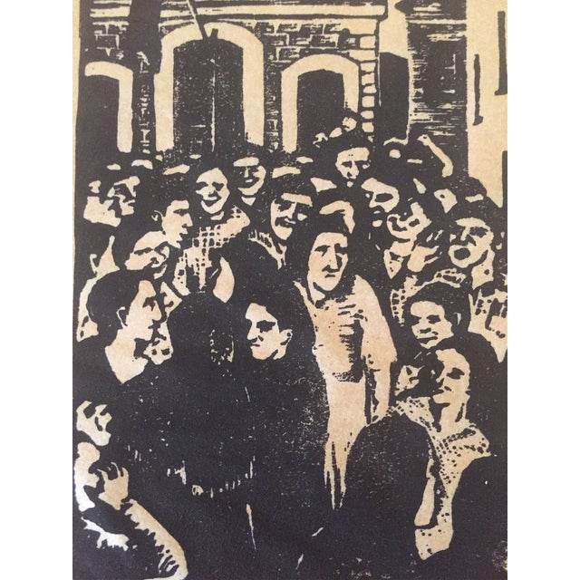 Fay Ostrower Woodblock Print - Image 6 of 6