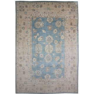 Traditional Oushak Area Rug - 12'4 X 15'8