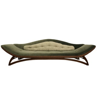 Mid-Century Gondola Style Sofa