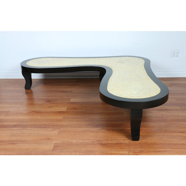 Mother Of Pearl Lacquered Coffee Table Chairish