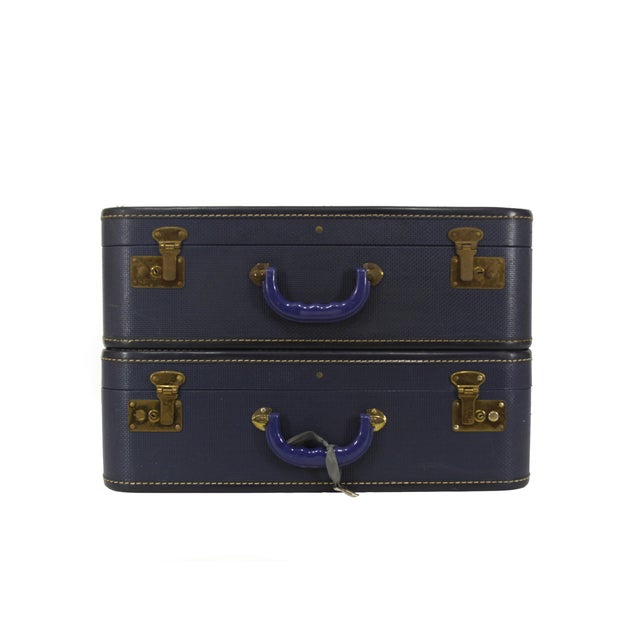 Navy Luggage - Pair - Image 2 of 5