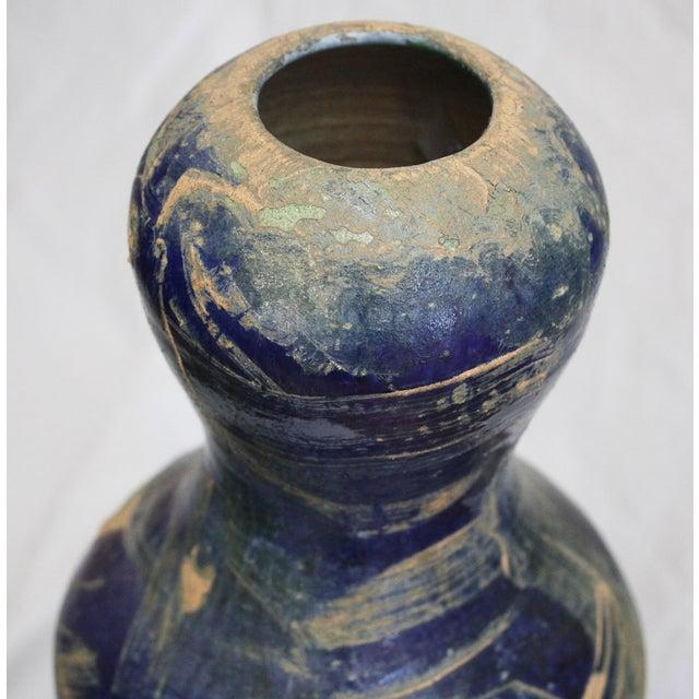 Vintage Large Art Vase, - Image 6 of 7