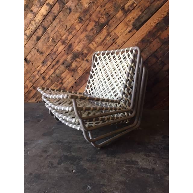 Vintage Brown Jordan Sand Chairs - Set of 4 - Image 5 of 5