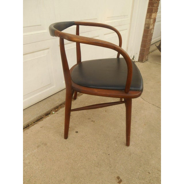 Boling Company Mid Century Walnut Chair Chairish