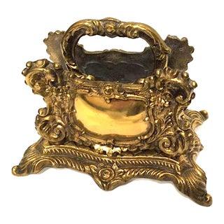 Vintage Baroque Letter Holder or Napkin Holder