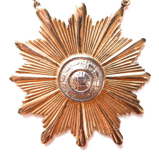 Image of Accessocraft Medallion Necklace