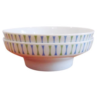 Paul McCobb Atomic Design Bowls - A Pair