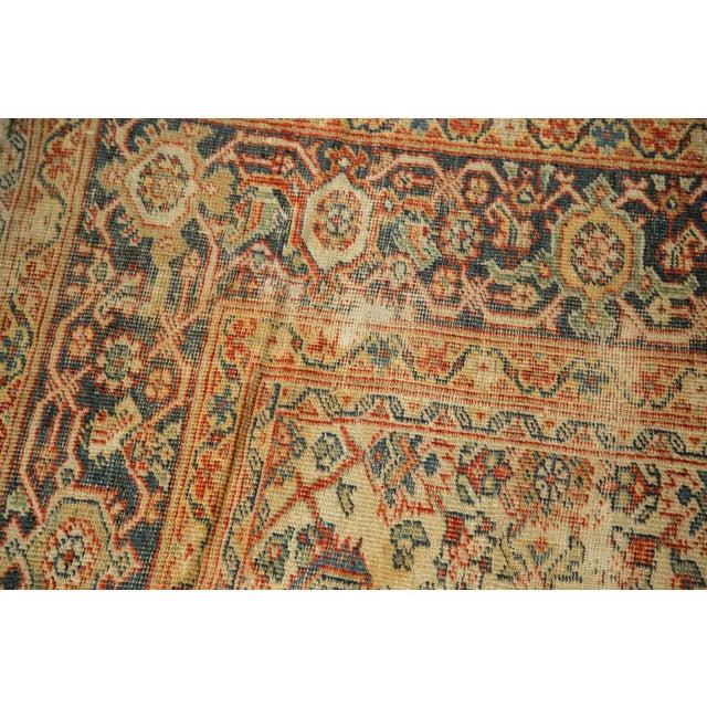 """Antique Mahal Square Carpet - 9'11"""" x 9'8"""" - Image 7 of 10"""