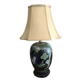 Asian Porclain Ginger Jar Table Lamp