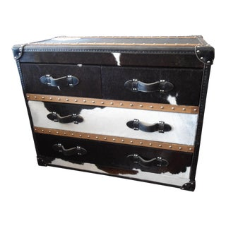 Timothy Oulton Stonyhurst Cowhide Finish Medium Chest