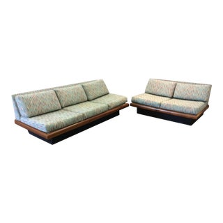 Adrian Pearsall Craft Associates 3 Piece Sectional Sofa