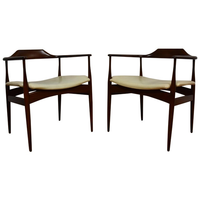 Ib Kofod Larsen for Selig Chairs - A Pair - Image 1 of 11