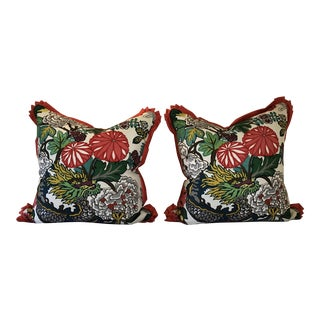 Schumacher Dragon Euro Shams - A Pair