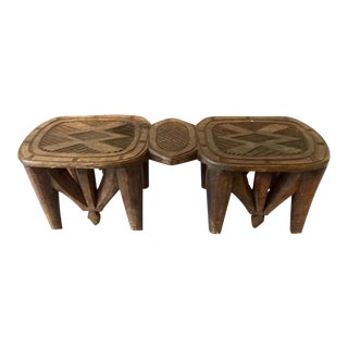 Nupe 8-Legged Stool Nigeria