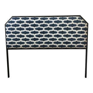 Upholstered Metal Frame Headboard