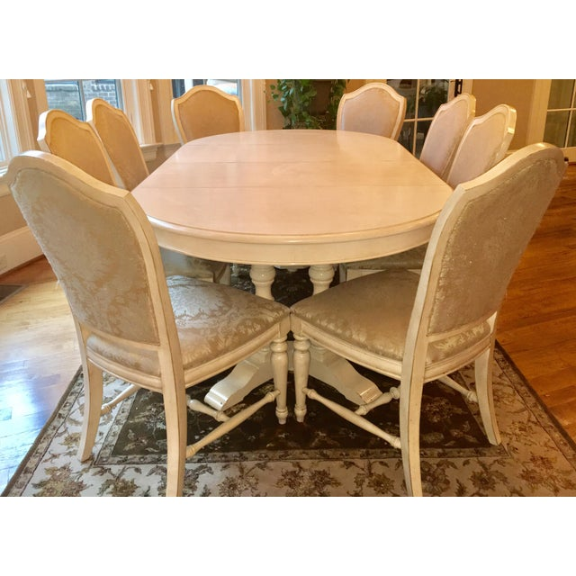 Drexel Heritage Dining Room Set: Drexel Heritage Dining Table & Chair Set - Seats 8
