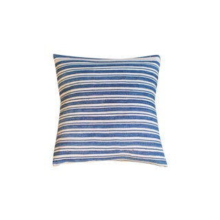 Oversize Indigo Blue Pillow
