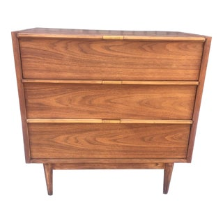 Petite Mid-Century Three Drawer Dresser