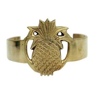 Brass Pineapple Bracelet