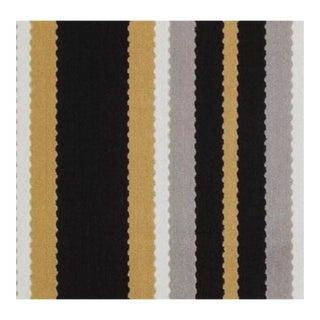 Hunterdon Stripe Black Gold by Duralee - 1 Yard