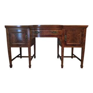 Late 19th C. Sheraton Style Mahogany Sideboard