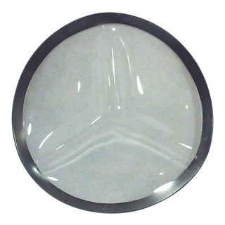 Dorothy Thorpe Silver Rim Divided Serving Platter
