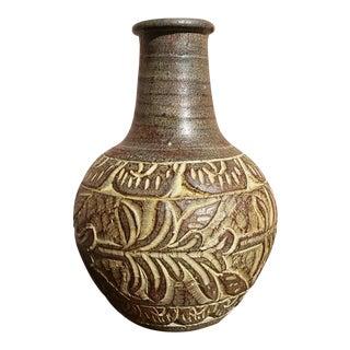 Handmade Vintage Mexican Clay Vase