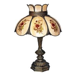 Caramel Bent Glass Lamp