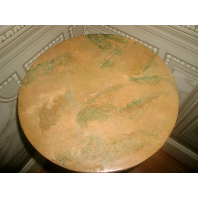 Picie Italian Hand Painted 19th C. Pedestal Table - Image 3 of 10