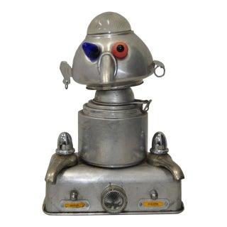 1950s Aluminum Robot Sculpture