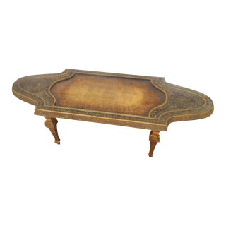 Vintage Neoclassical Coffee Table