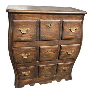 Baker Collectors Choice 3-Drawer Bombe Chest