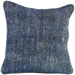 Vintage Blue Handmade Overdyed Pillow Cover