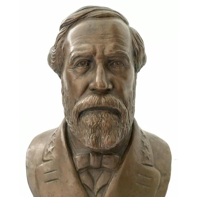 Image of Vintage Ulysses S. Grant Bust Sculpture