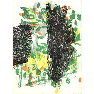 Jean Paul Riopelle, Composition XV-171, 1968 Lithograph
