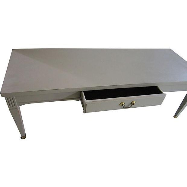 Image of Mid-Century Coffee Table on Casters
