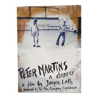 Peter Martins Ballet Poster, 1978